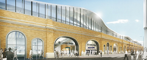 London Bridge station redevelopment drawing