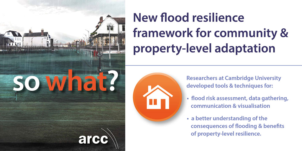 New flood resilience framework for community & property-level adaptation