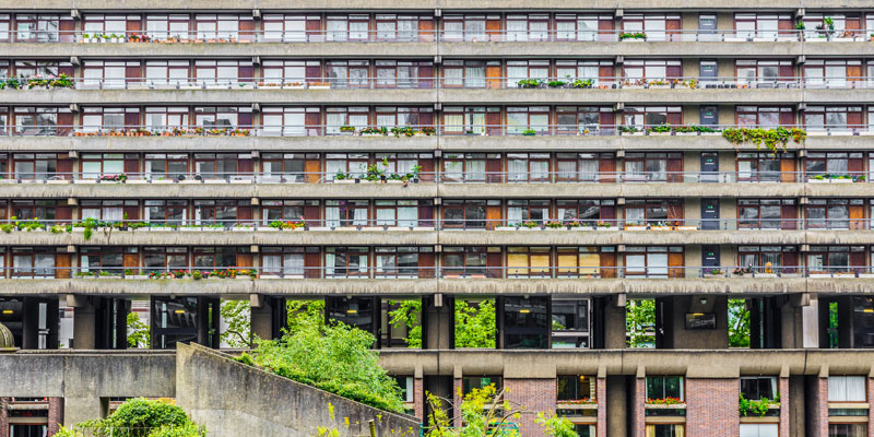 Barbican housing