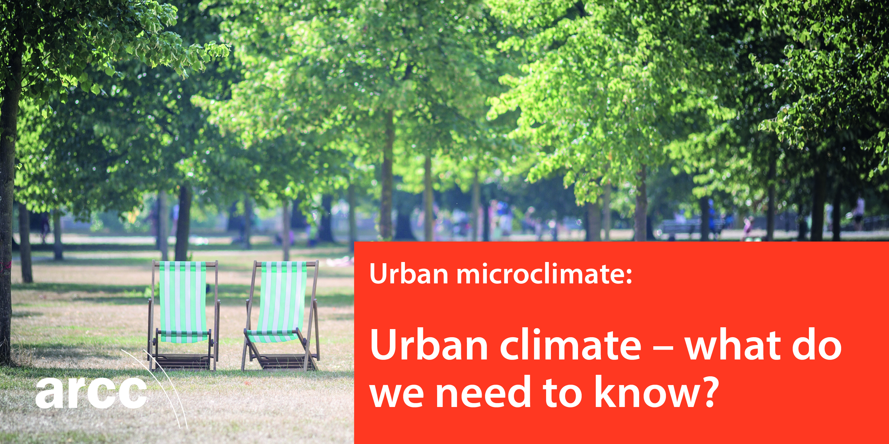 Urban climate – what do we need to know