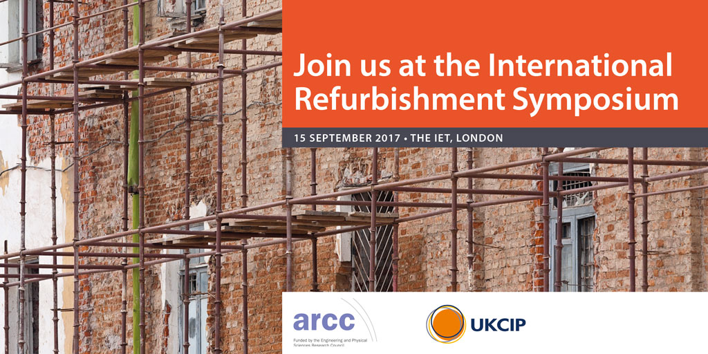 Refurbishment Symposium, 15 Sept 2017