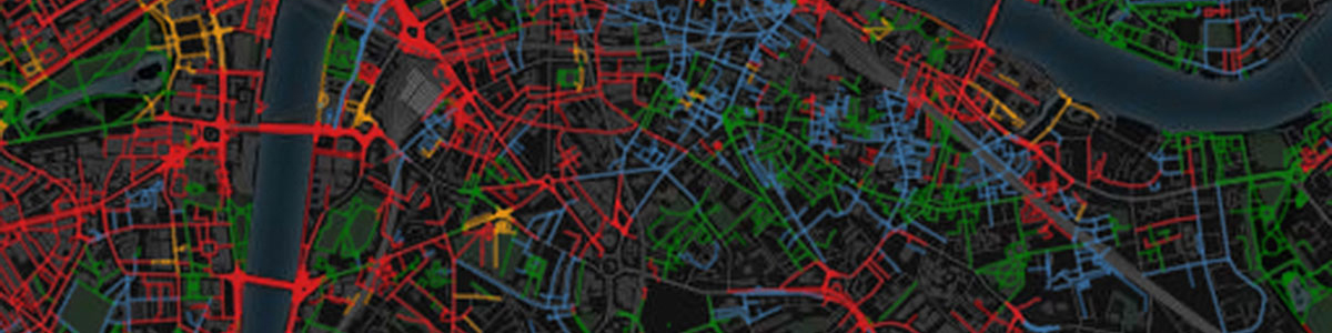 Smell map of London