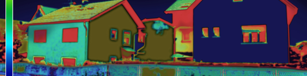 Thermal image of housing
