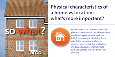 Physical characteristics of a home vs location: what's more important?